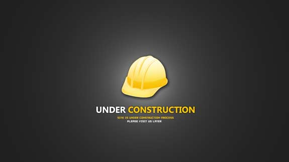 Free Website Under Construction PSD Templates 01 25 Free Website Under Construction Templates