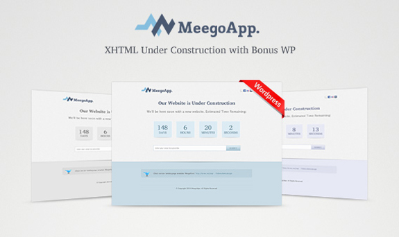 Free Website Under Construction PSD Templates 03 25 Free Website Under Construction Templates