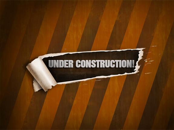 Free Website Under Construction PSD Templates 06 25 Free Website Under Construction Templates