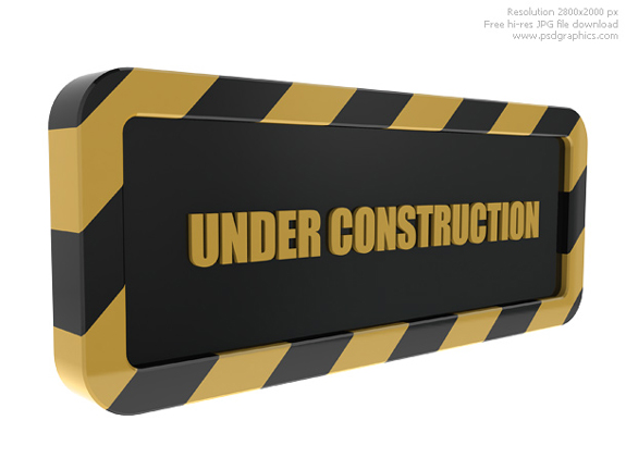 Free Website Under Construction PSD Templates 08 25 Free Website Under Construction Templates