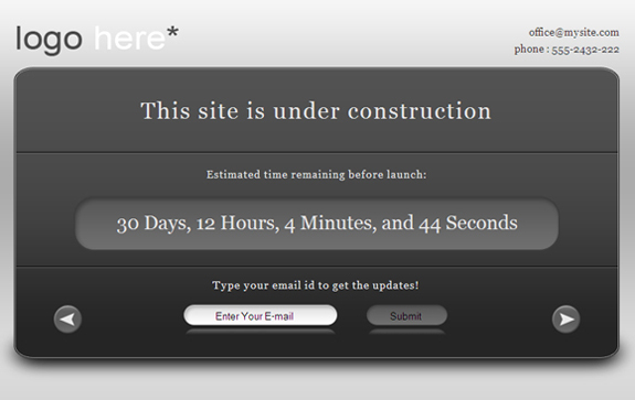 Free Website Under Construction Templates 13 25 Free Website Under Construction Templates