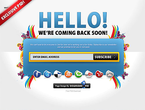 Free Website Under Construction Templates 25 25 Free Website Under Construction Templates