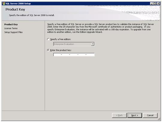 Cách cài đặt SQL Server 2008
